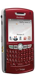 BlackBerry 8830 World Edition Red for Verizon Wireless