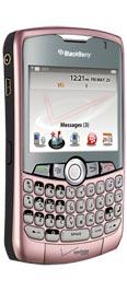 BlackBerry Curve 8330 Pink for Verizon Wireless