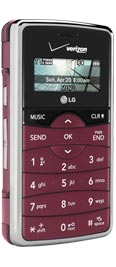 LG enV2 VX9100 Maroon for Verizon Wireless