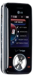 LG Chocolate VX8550 Black for Verizon Wireless