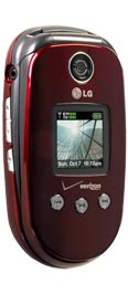 LG VX8350 Red for Verizon Wireless