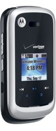 Motorola Entice W766 Silver for Verizon Wireless