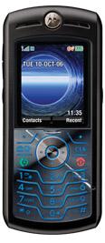 Motorola SLVR L7c Black for Verizon Wireless