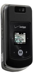 Motorola W755 Black Slate for Verizon Wireless