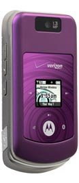 Motorola W755 Purple for Verizon Wireless