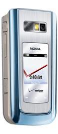 Nokia 6205 Blue Silver for Verizon Wireless