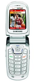 Samsung A850 for Verizon Wireless