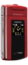 Samsung FlipShot SCH-U900 Red for Verizon Wireless