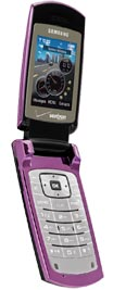 Samsung Gleam U700 Purple for Verizon Wireless