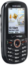 Samsung Intensity u450 Black for Verizon Wireless