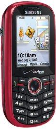 Samsung Intensity u450 Red for Verizon Wireless