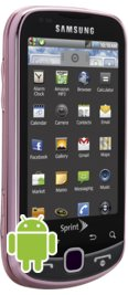 Samsung Intercept Satin Pink for Sprint