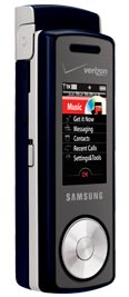 Samsung Juke U470 Dark Blue for Verizon Wireless