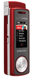 Samsung Juke U470 Red for Verizon Wireless