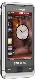 Samsung Omnia Black for Verizon Wireless