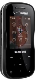 Samsung Trance Piano Black for Verizon Wireless